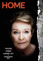 THEATRE  SPRING – SUMMER 2017 + CHRISTMAS 2017