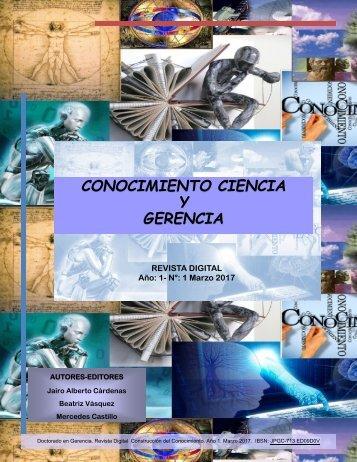 Conocimiento Ciencia y Gerencia (Revista Digital)