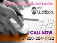 18002044122 QuickBooks Installation Support Phone Number