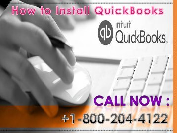 18002044122 QuickBooks Installation Support Phone Number