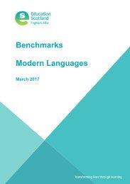 Benchmarks Modern Languages