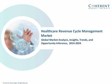 Healthcare Revenue Cycle Management Market – Global Industry Insights, Trends and Opportunity Analysis, 2016–2024