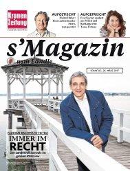 s'Magazin usm Ländle, 26. März 2017