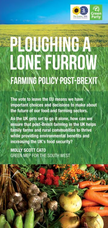 farming policy post-brexit