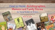 Close to Home Autobiographies Memoirs and Family Stories