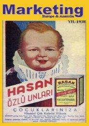 marketing europe & anatolia Sayı: 001