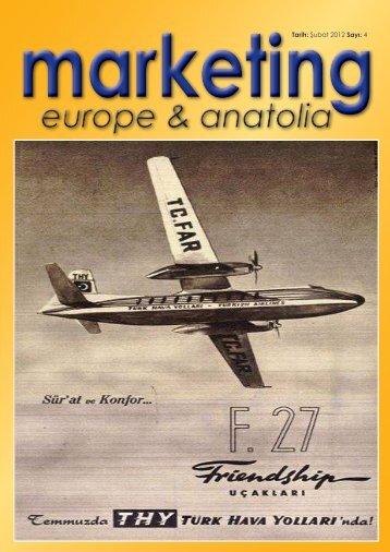 marketing europe & anatolia Sayı: 004