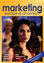 marketing europe & anatolia Sayı: 006