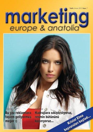 marketing europe & anatolia Sayı: 007