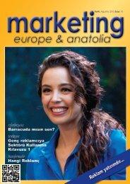marketing europe & anatolia Sayı: 010