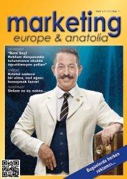 marketing europe & anatolia Sayı: 011