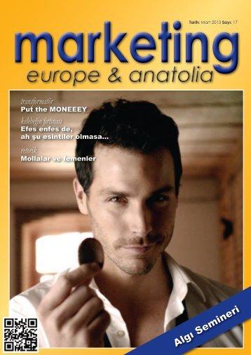 marketing europe & anatolia Sayı: 017