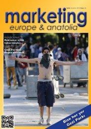 marketing europe & anatolia Sayı: 020