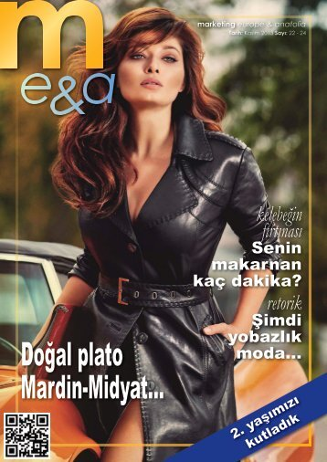 marketing europe & anatolia Sayı: 022-024
