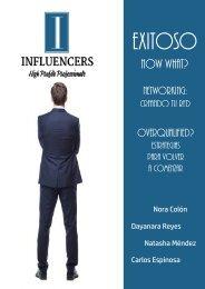 INFLUENCERS 1a Edicion