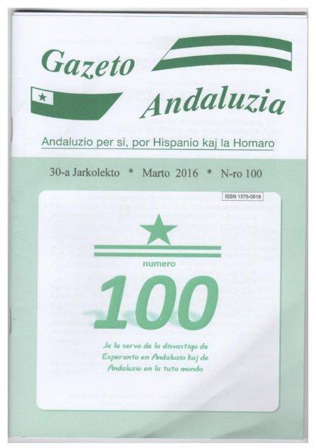 GAZETO ANDALUZIA n-ro 100