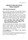 BİRLİKTE TÜRK MİLLETİYİZ - Page 3