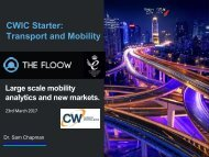 CWIC Starter Transport and Mobility