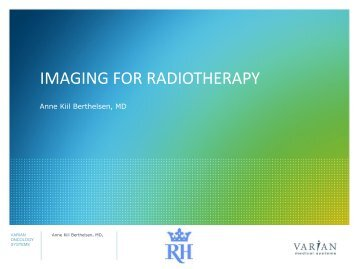 IMAGING FOR RADIOTHERAPY