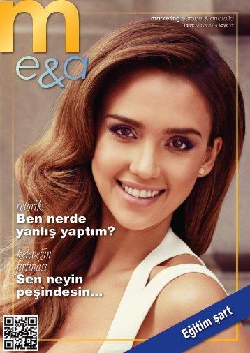 marketing europe & anatolia Sayı: 029
