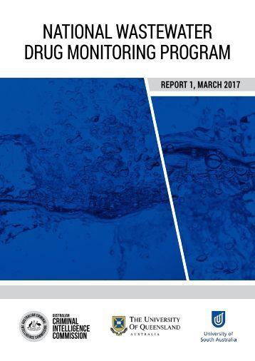 NATIONAL WASTEWATER DRUG MONITORING PROGRAM
