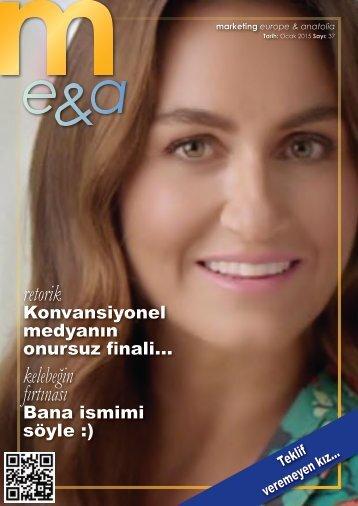 marketing europe & anatolia Sayı: 037
