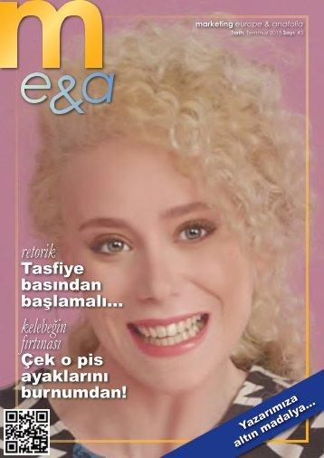 marketing europe & anatolia Sayı: 043