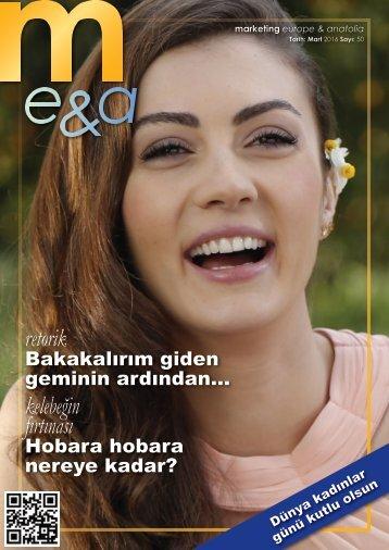 marketing europe & anatolia Sayı: 050