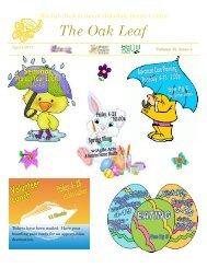 Monthly Newsletter of Olivedale Senior Center