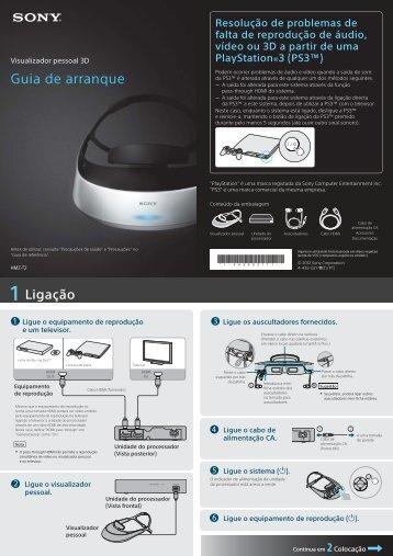Sony HMZ-T2 - HMZ-T2 Guida di configurazione rapid Portoghese