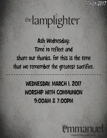 March 2017 Lamplighter