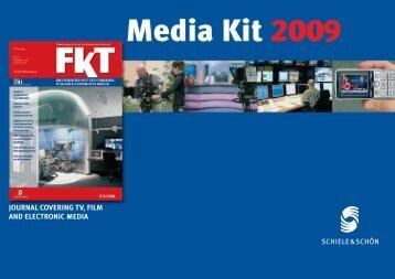 journal covering tv, film and electronic media - FKT - Fachverlag ...