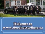 Wedding Limousine in London Ontario