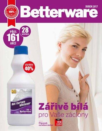 Betterware Czech team katalog duben 2017