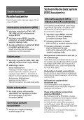 Sony CDX-G3200UV - CDX-G3200UV Istruzioni per l'uso Estone - Page 7