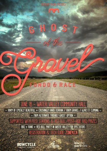 Ghost of the Gravel Fondo & Race 2017