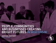 PEOPLE COMMUNITIES AND BUSINESSES CREATING BRIGHT FUTURES IN