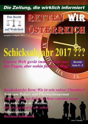 Zeitung - Das Recht auf Wahrheit - Frühjahr 2017