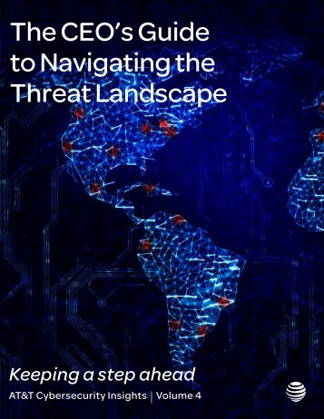 The CEO's Guide to Navigating the Threat Landscape