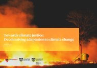 Towards climate justice Decolonising adaptation to climate change