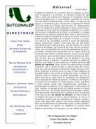 Gaceta Sutconalep No. 11 - Page 3