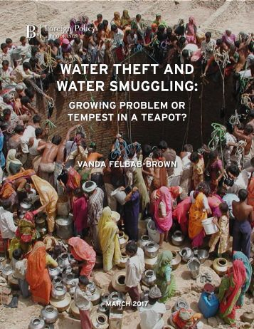 WATER THEFT AND WATER SMUGGLING