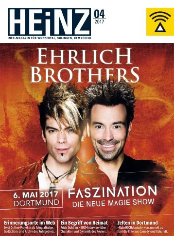 HEINZ Magazin Wuppertal 04-2017