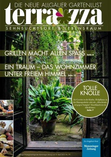 """Die neue Allgäuer Gartenlust """"Terrazza"""""""