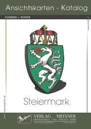 Meixner Ansichtskarten-Katalog Steiermark - SOMMER