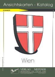 Meixner Ansichtskarten-Katalog Wien - SOMMER
