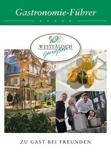 Gastronomie-Führer Westfälisch Genießen