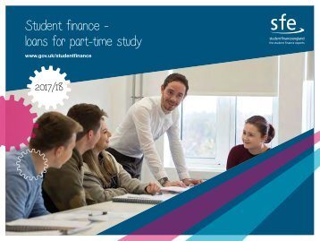 Student finance - loans for part-time study