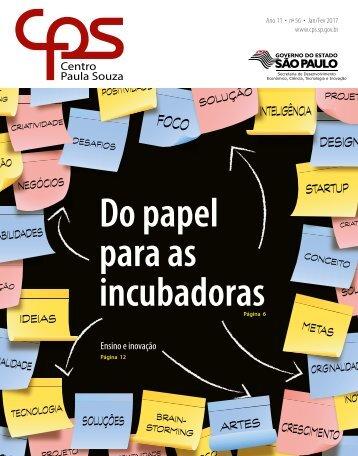 Do papel para as incubadoras