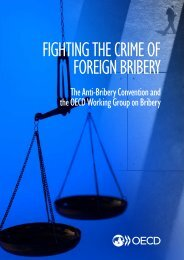 FIGHTING THE CRIME OF FOREIGN BRIBERY